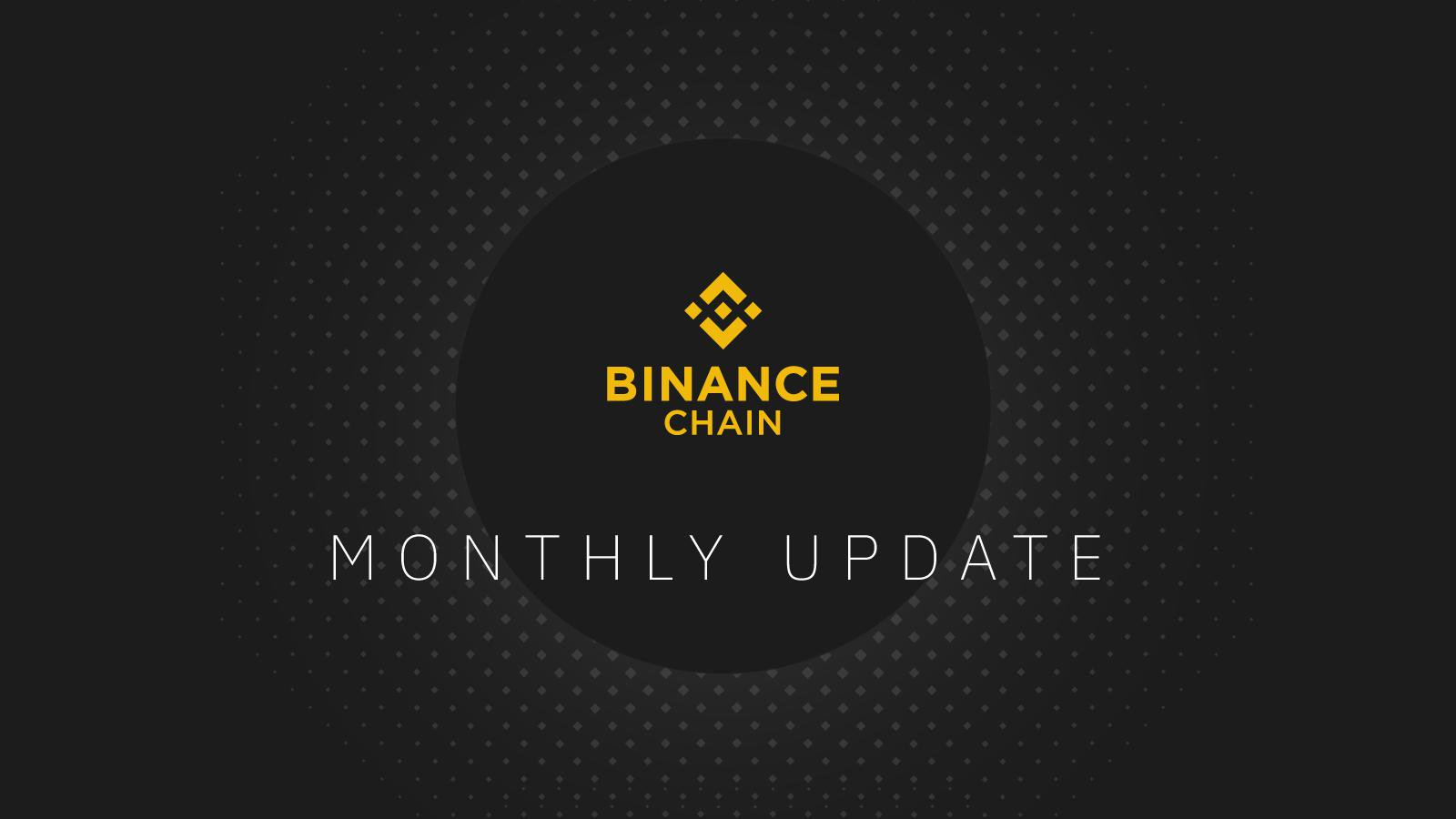 Binance Chain Monthly Update - September