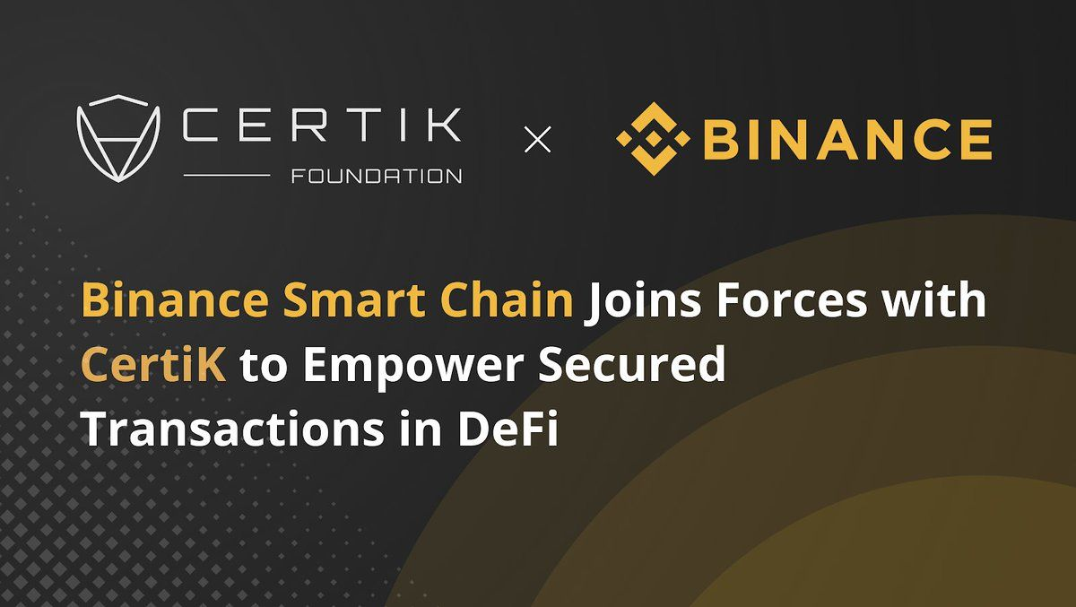 CertiK Introduces Suite of Security Offerings on Binance Smart Chain, with Limited Time Promo for BSC Projects