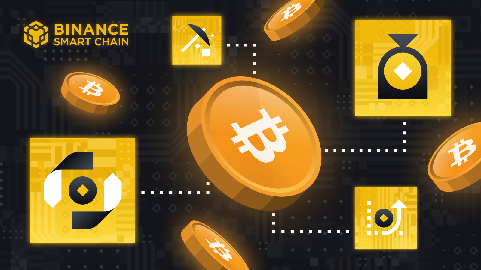 4 Ways To Do More With BTC on Binance Smart Chain!