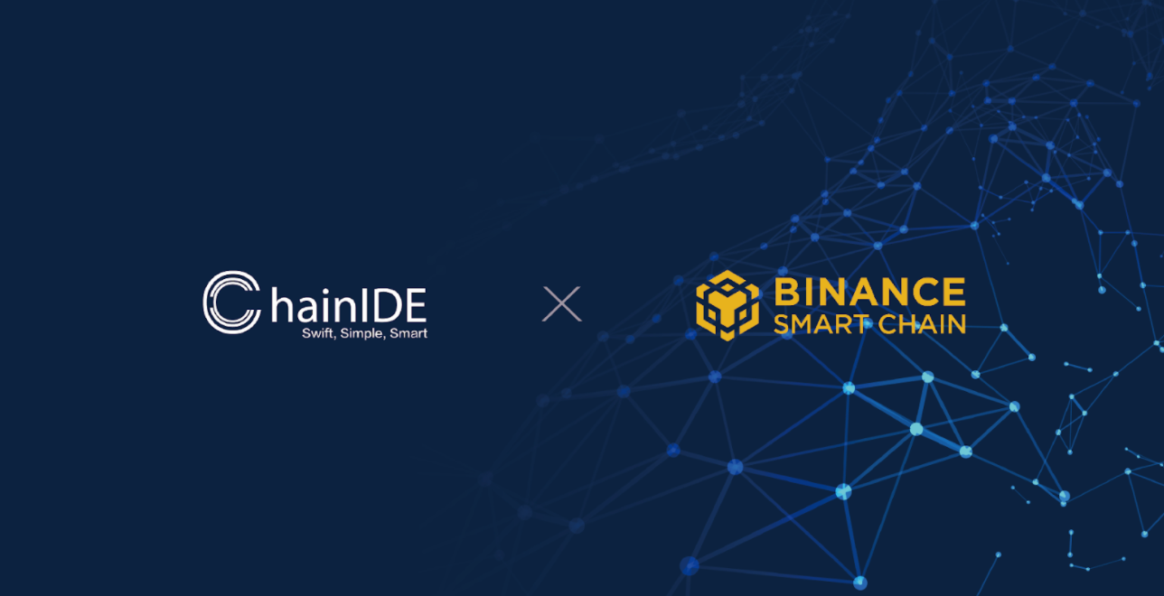 ChainIDE now supports Binance Smart Chain!