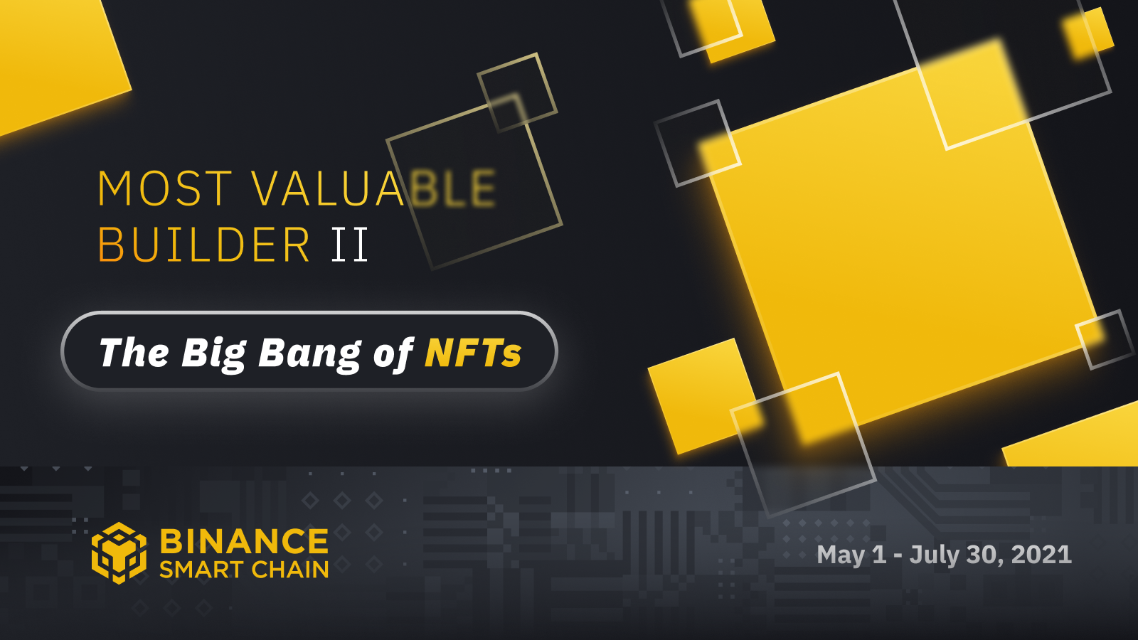 The Most Valuable Builder (MVB) II: The Big Bang of NFTs