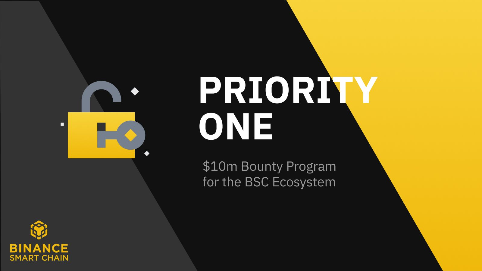 Priority ONE: $10m Joint Bounty Program for the BSC Ecosystem