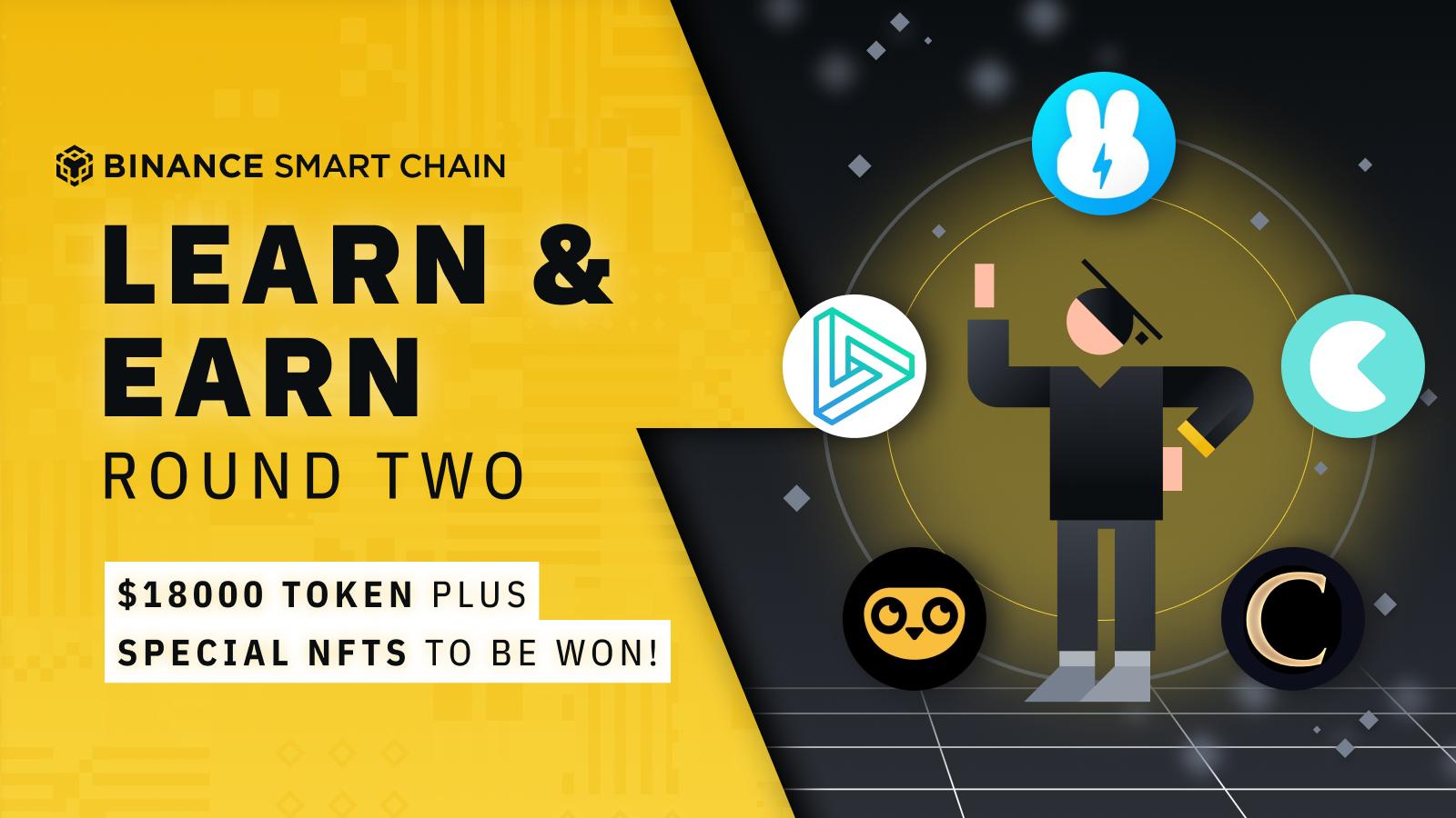 BSC Learn & Earn 2: Win a Share of $18,000