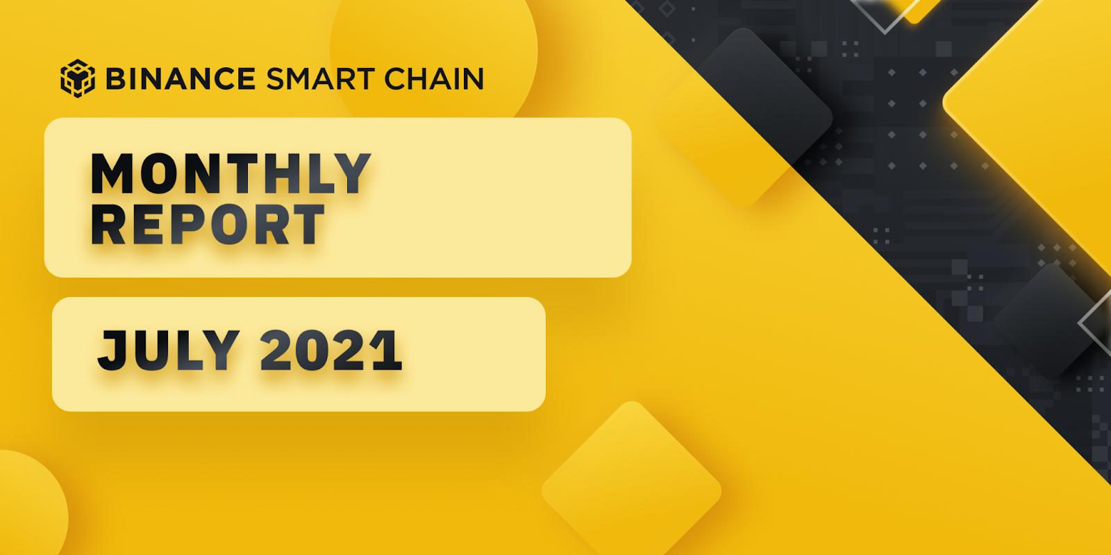 Binance Smart Chain Ecosystem Report - July 2021