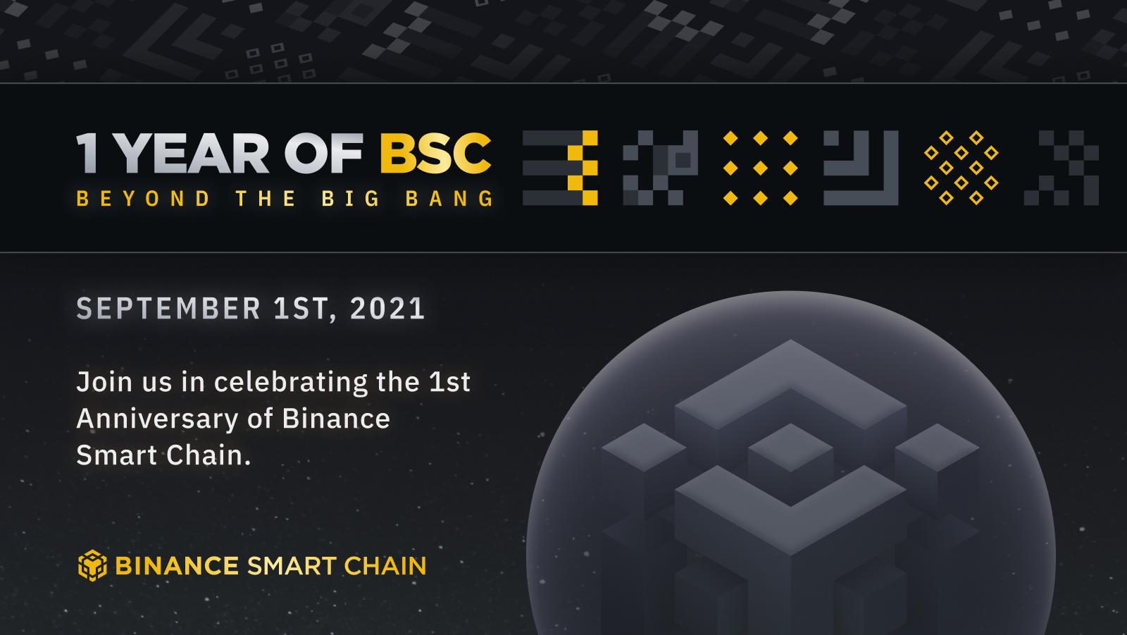 Binance Smart Chain 1st Anniversary: Beyond the Big Bang!