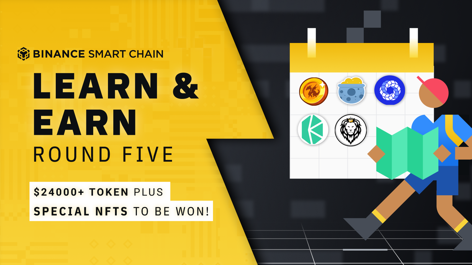 BSC Learn & Earn 5: $24,000 and NFTs in Prizes!